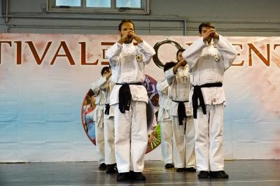 Festival dell'Oriente 2017 - Saluto Kung Fu