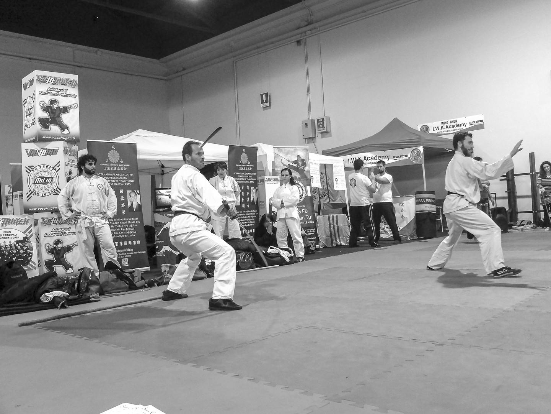 Festival dell'Oriente 2018 - Doppia sciabola di Shaolin