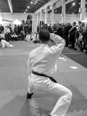 Festival dell'Oriente 2018 - Guardia Shaolin (vista posteriore)