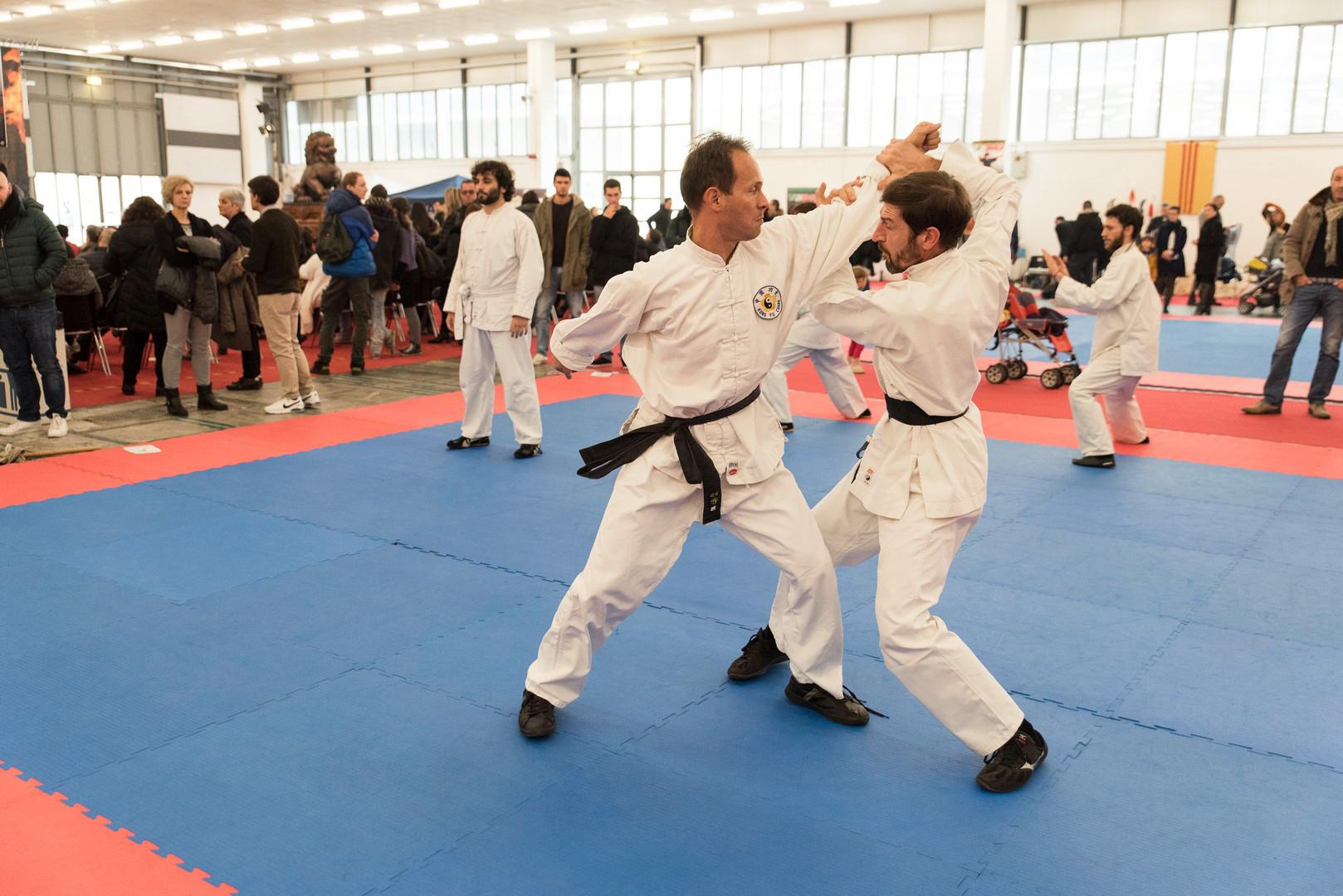 Festival dell'Oriente 2015 - Shaolin - Leve e Proiezioni