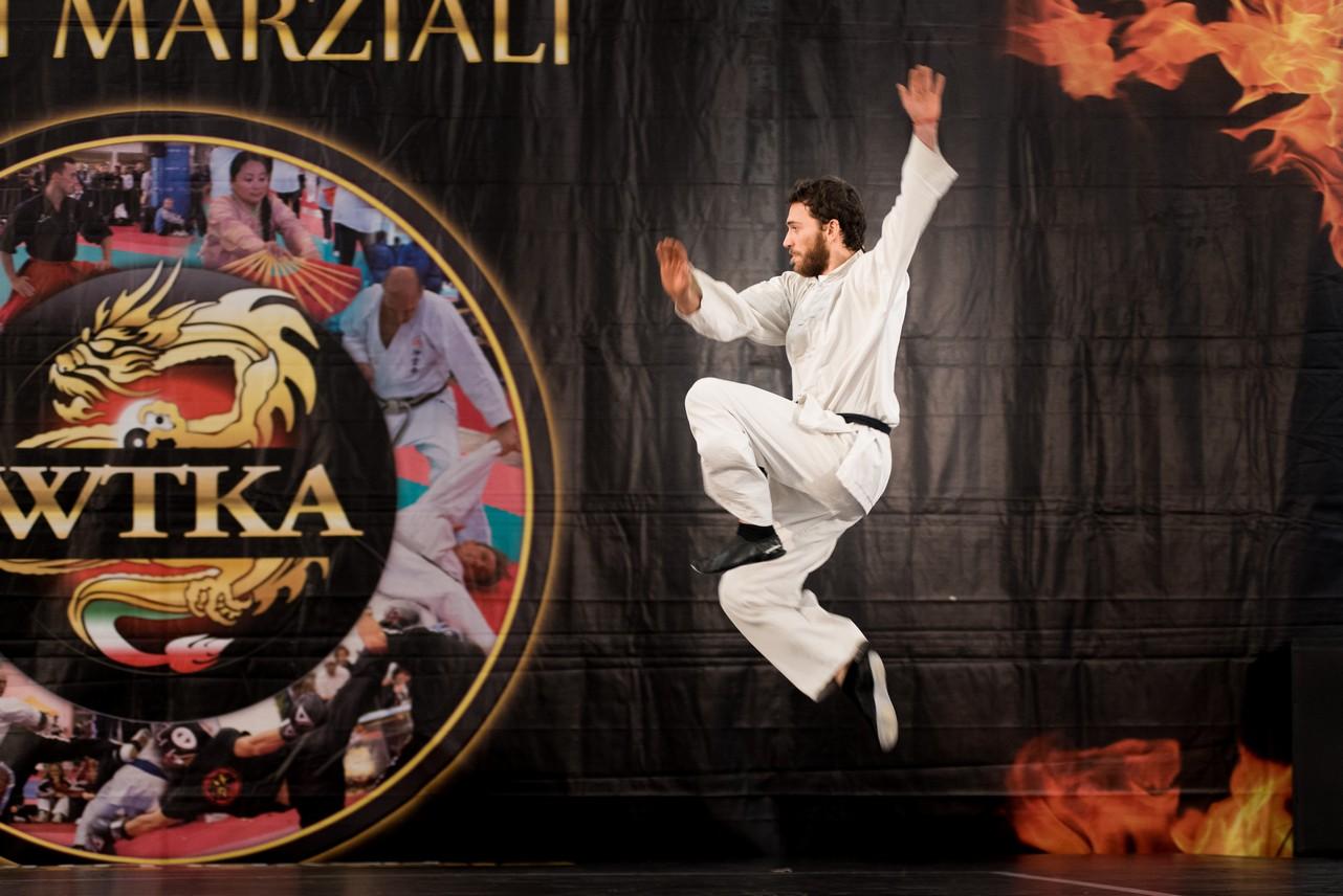 Festival dell'Oriente 2015 - Shaolin - Tui Fa - Calcio in volo