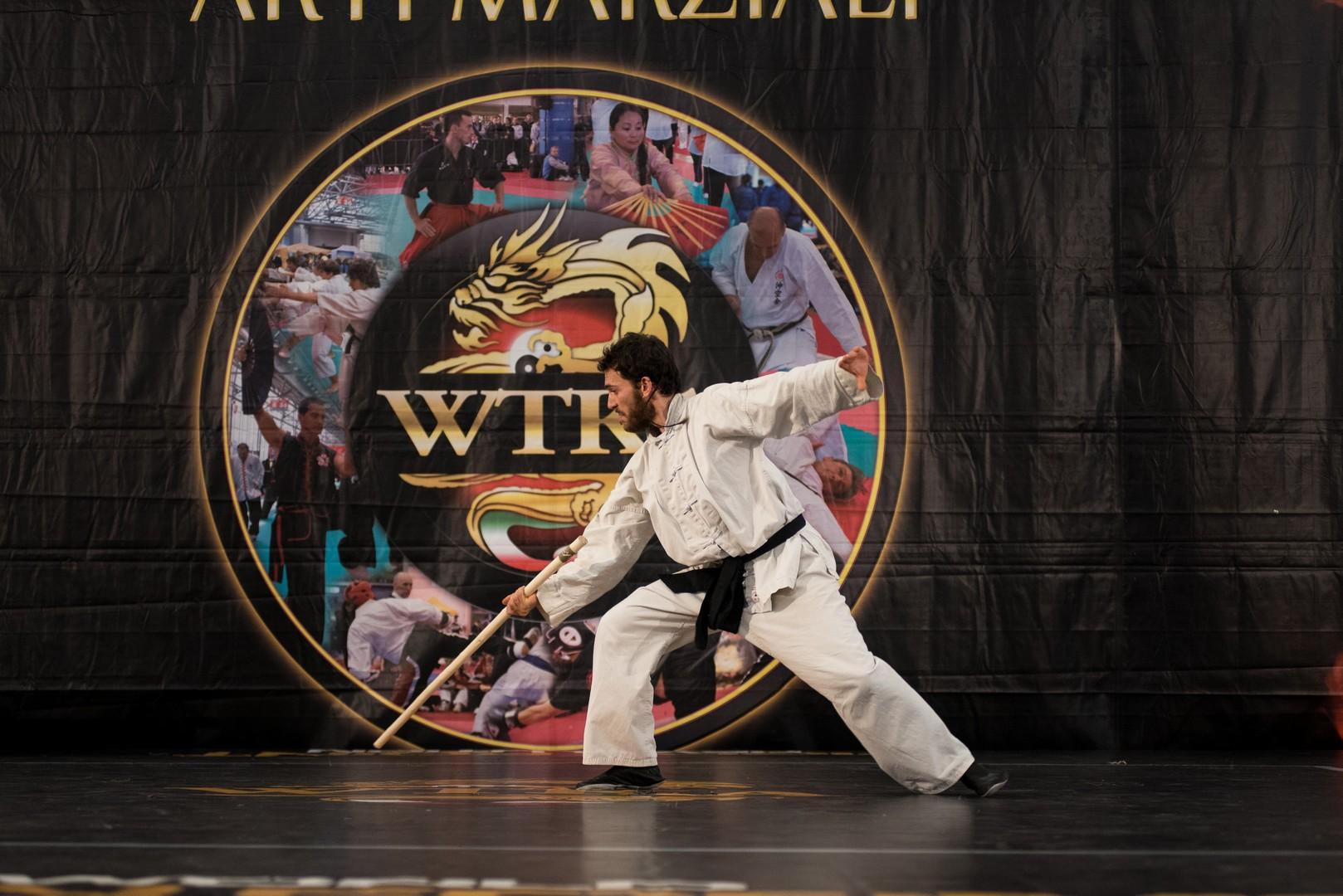 Festival dell'Oriente 2015 - Shaolin - Pang Fa (Bastone Corto)