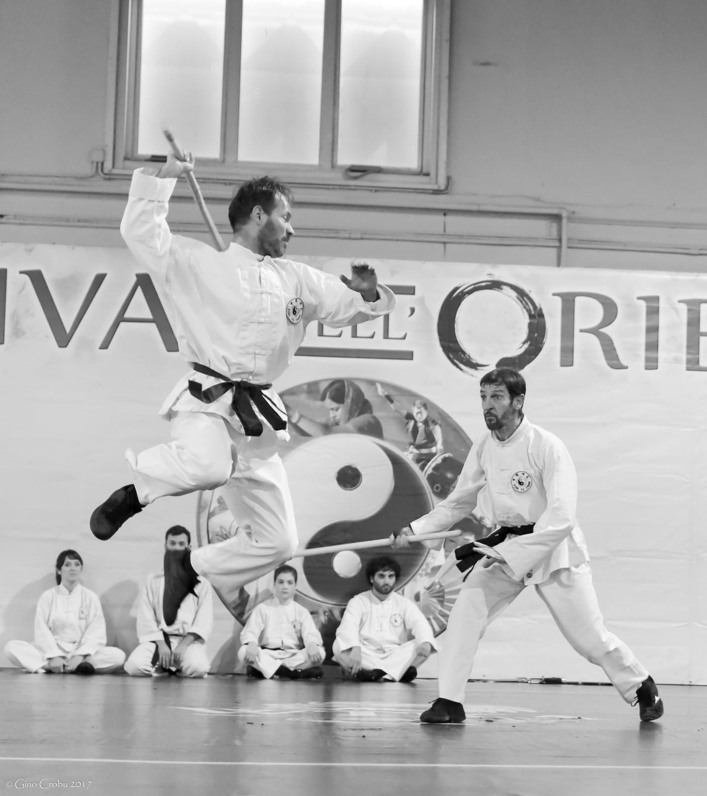 Festival dell'Oriente 2017 - Shaolin - Bastone Corto vs Bastone Lungo