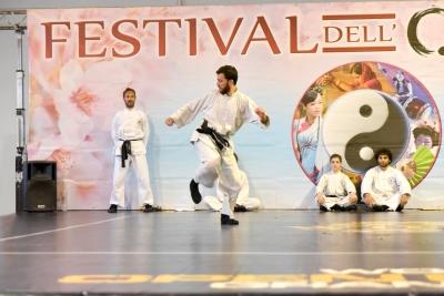 Festival dell'Oriente 2017 - Shaolin - 2° Lu di Tui Fa (Calci)