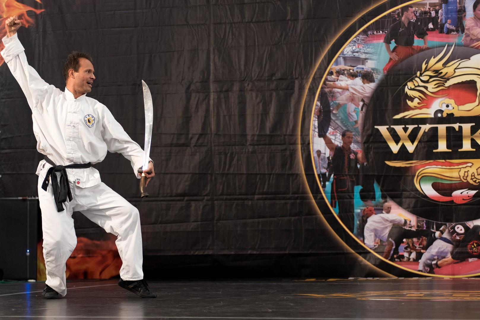 Festival dell'Oriente 2015 - Shaolin - Sciabola