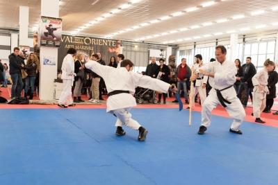 Festival dell'Oriente 2015 - Shaolin - Bastone corto vs Sciabola
