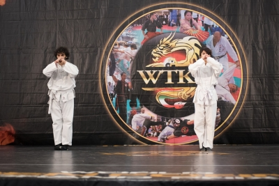 Festival dell'Oriente 2015 - Shaolin - 1° Lu, saluto