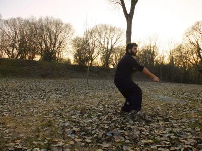 Kung Fu - Pa Chi Ch'uan al parco