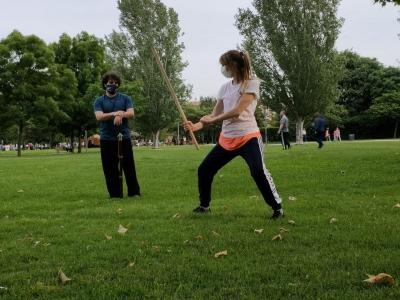 Kung Fu - Pang fa al parco