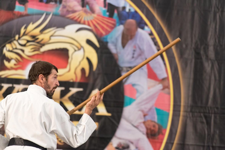 Festival dell'Oriente 2015 - T'ai Chi Chuan - Bastone Lungo (Kun)